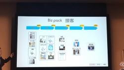 スライド12「Biz pack 接客」