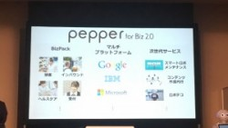 スライド10「Pepper for Biz 2.0」