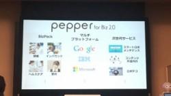 スライド10「Pepper for Biz 2.0」
