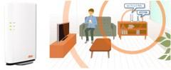 ひと部屋程度のau携帯の通話・データ通信エリアを形成