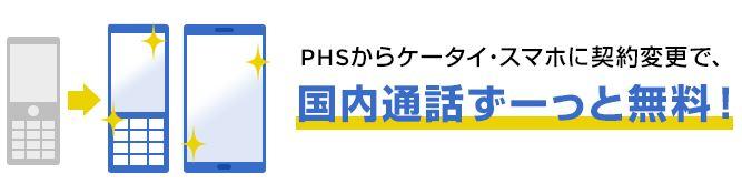ソフトバンクPHS無料0