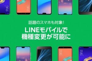 LINEモバイル1