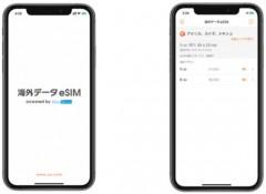eSIM画面イメージ